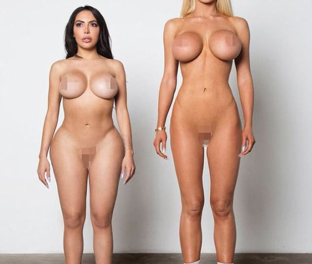 Have The Models Be Naked With Giant Boobs And Butts I Love It