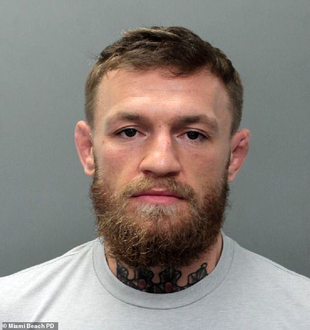 conor mcgregor arrested